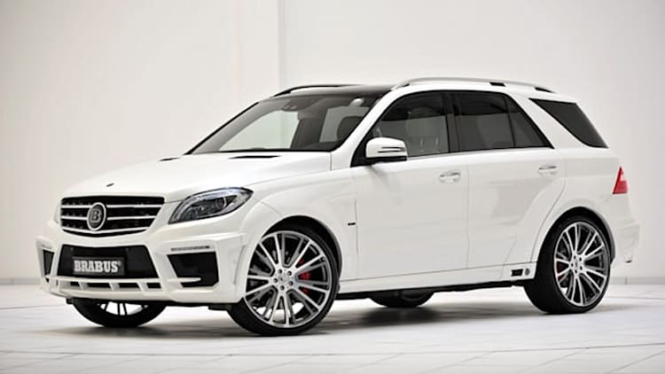 Brabus gives AMG crossovers 700 hp and a stance to match