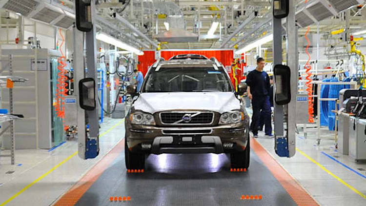 Volvo to build range-topping S90 sedan in China