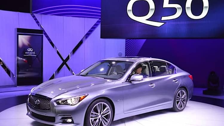 Infiniti recalls Q50 and Q70 Hybrid models