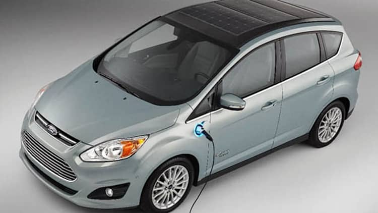Ford bringing C-Max Solar Energi Concept to CES [w/video]