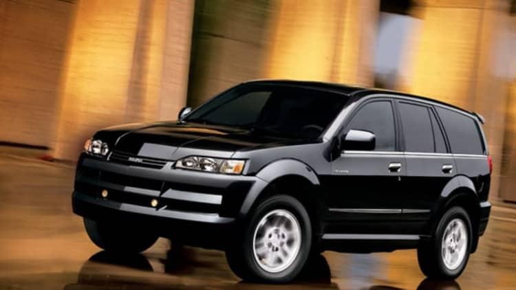 2003-2004 Isuzu SUVs recalled for suspension corrosion woes