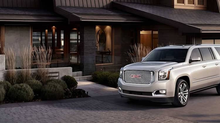 The 2017 GMC Yukon XL Denali:  Not just for the fertile set