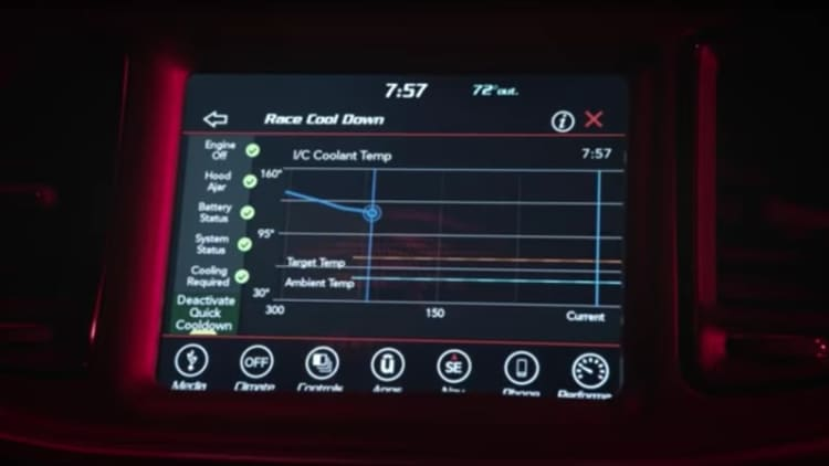 A look at the Dodge Demon's drag settings, modes, and go-fast tech