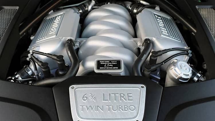 Bentley in no rush to retire Mulsanne's 6.75-liter V8