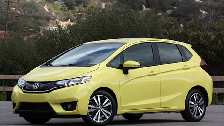 2015 Honda Fit First Drive