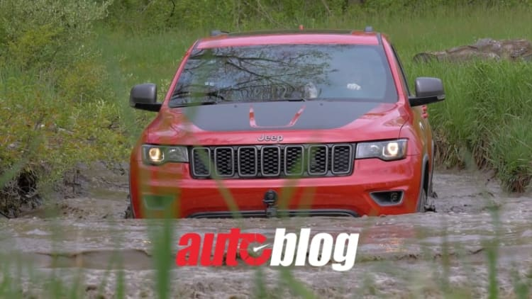 Off-roading the Lyman Trail in the 2017 Jeep Grand Cherokee Trailhawk