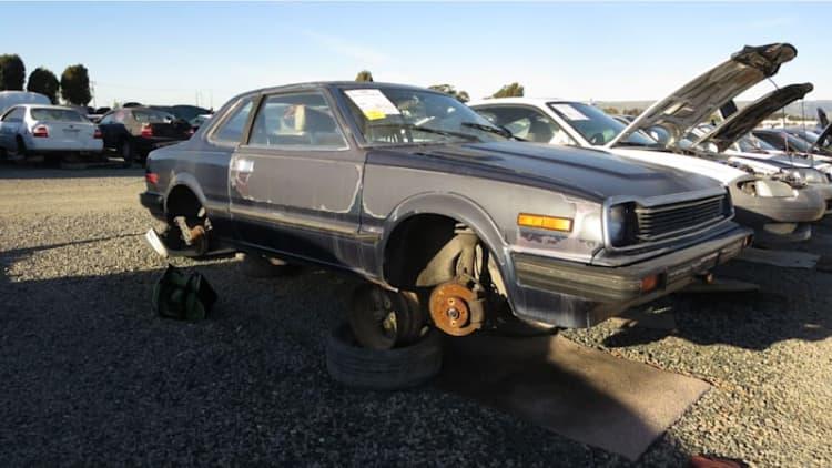 Junkyard Gem: 1982 Honda Prelude