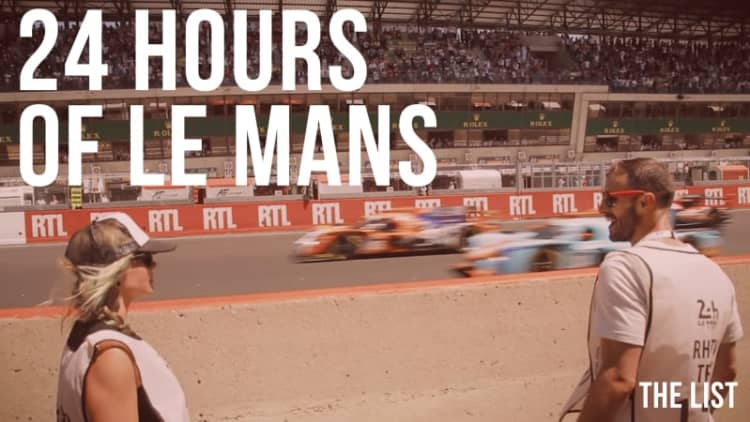 Experiencing 24 Hours of Le Mans | The List