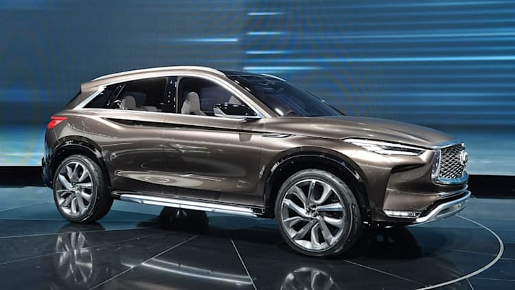 Infiniti's QX50 Concept debuts in oh-so-close-to-production form in Detroit
