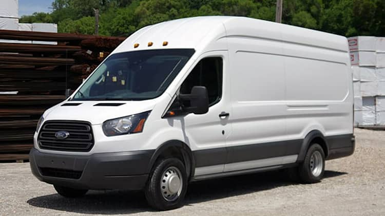 2015 Ford Transit First Drive