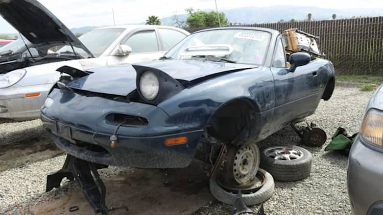 Junkyard Gem: 1994 Mazda MX-5 Miata