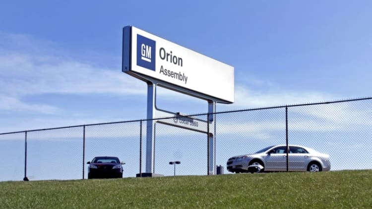 Mysterious white powder discovered at GM Orion Assembly