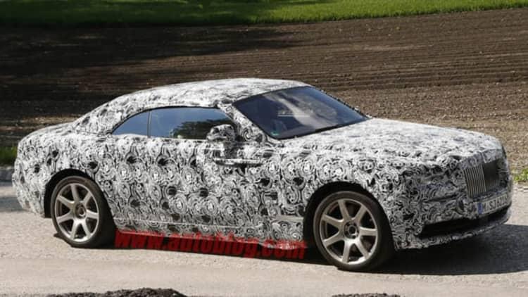 Rolls-Royce developing new convertible