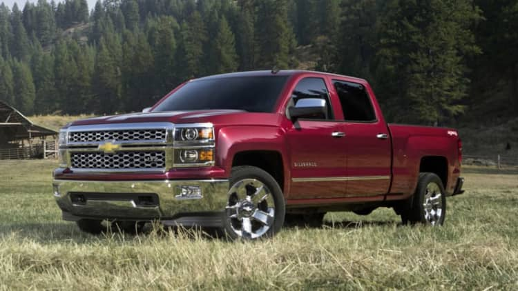 GM seatbelt recall affects over 1m Silverados and Sierras