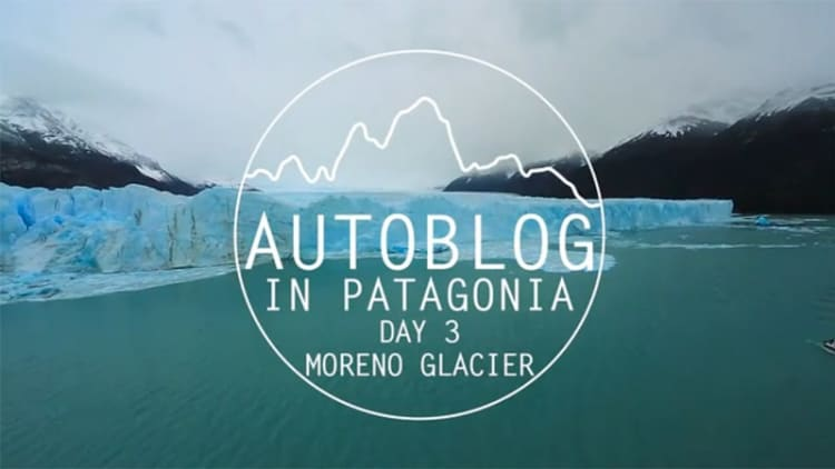 We drive a Subaru to one of the world's largest glaciers