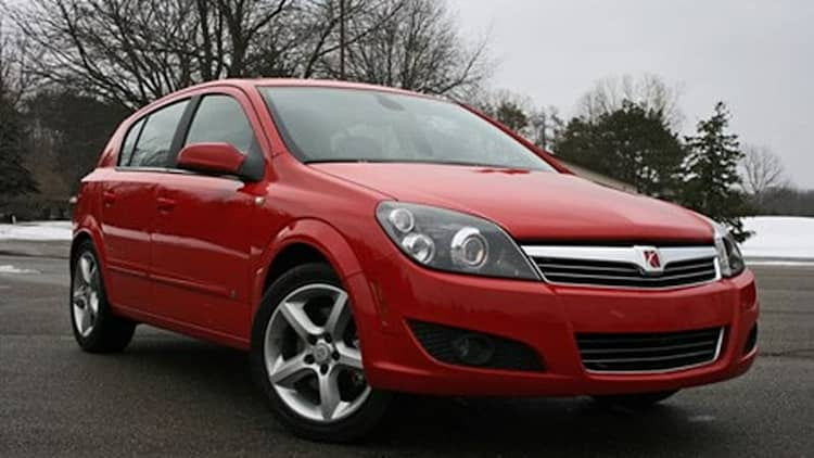Review: 2008 Saturn Astra XR
