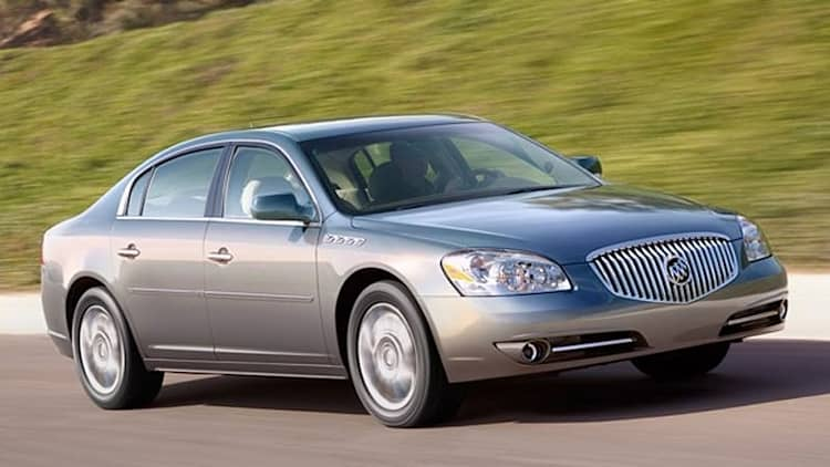 2010-11 Buick Lucerne and Cadillac DTS recalled over electrical issues