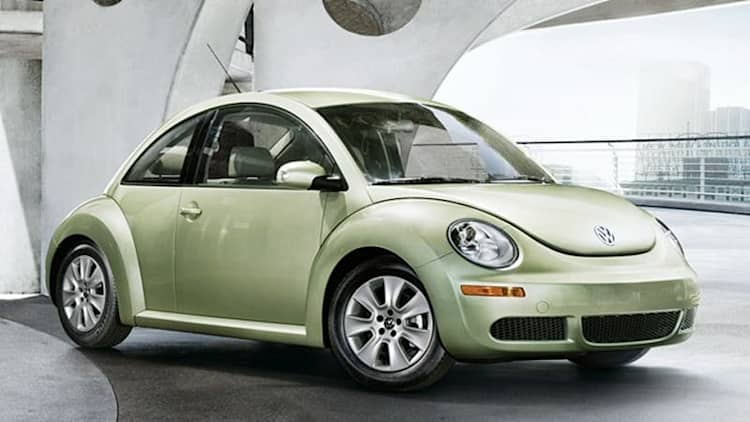 Bizarre recall mandates 2010 Volkswagen New Beetle models be replaced with... older cars?!