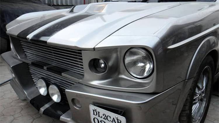 Indian tuner turns Chevy Optra into Mustang 'Eleanor' replica
