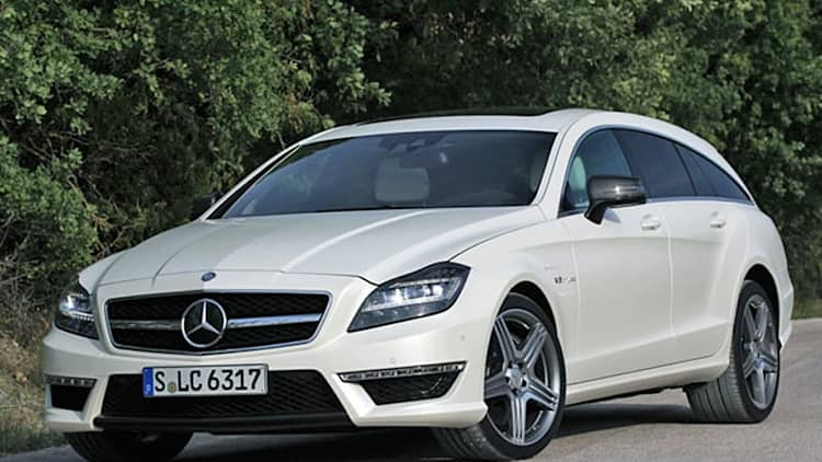 2013 Mercedes CLS63 AMG Shooting Brake [w/video]
