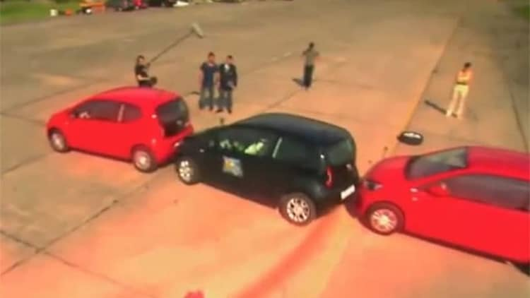 Tightest parallel parking record falls yet again