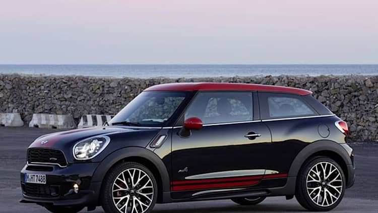 2014 Mini John Cooper Works Paceman All4
