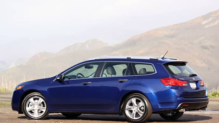 Acura TSX Sport Wagon on the way out?