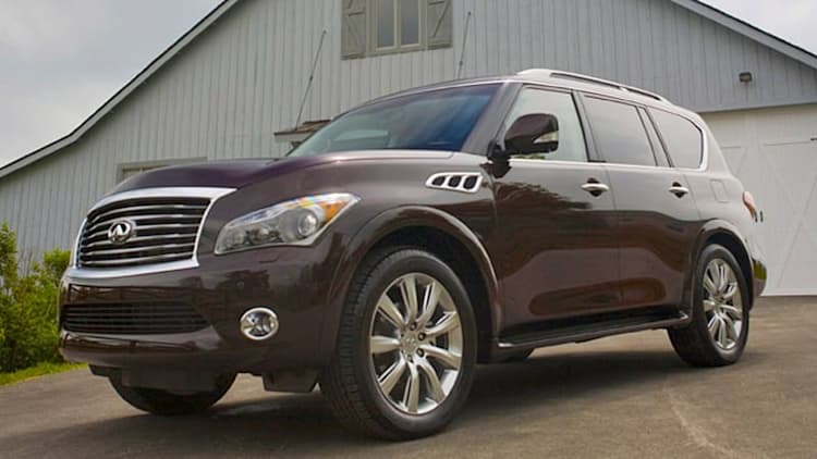 Infiniti prices renamed 2014 QX50 and QX80 crossovers