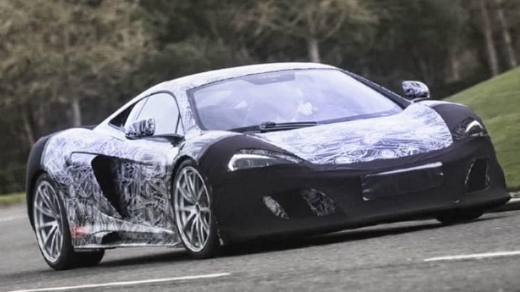 McLaren previews 650S track special