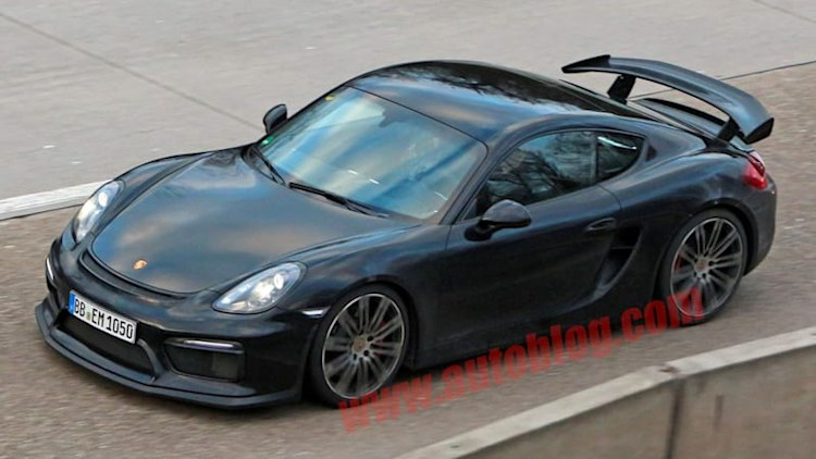 Porsche Cayman GT4 looks sexy, rapid in the nude