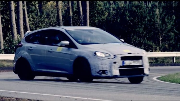 Ford drops Focus RS teaser ahead of Feb 3 reveal