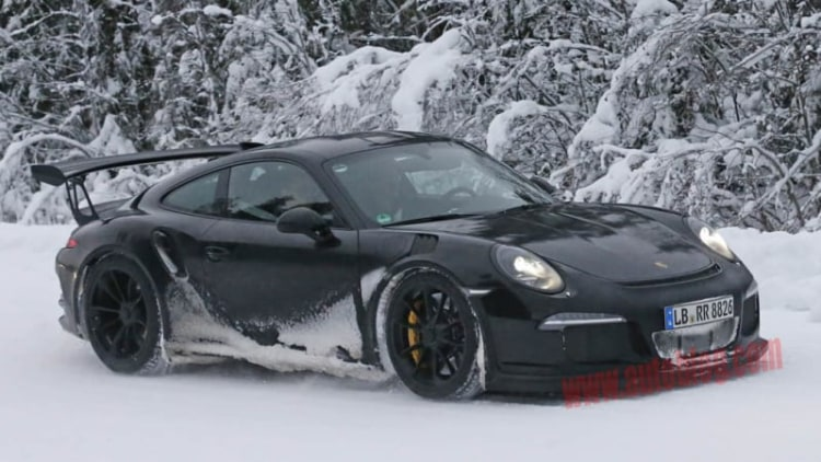 Porsche 911 GT3 RS getting all-new atmospheric engine