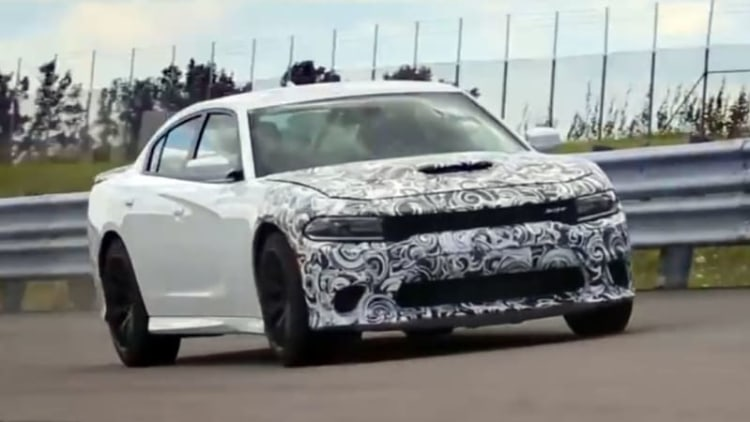 Watch the Dodge Charger SRT Hellcat verify its 204-mph top speed