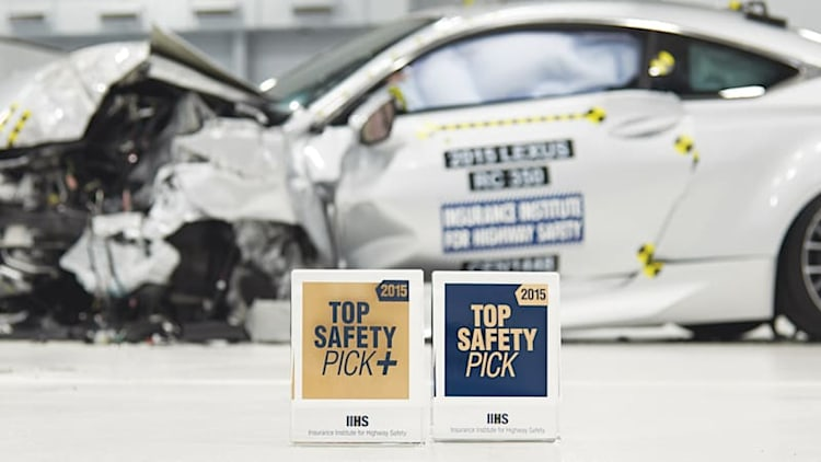 Vehicles awarded IIHS Top Safety Pick awards skyrockets for 2015 [w/video]
