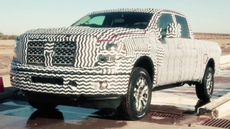 2016 Nissan Titan further teased ahead of Detroit debut
