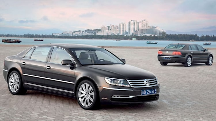 VW still set on Phaeton redux despite cost-cutting drive and losing $32k per car