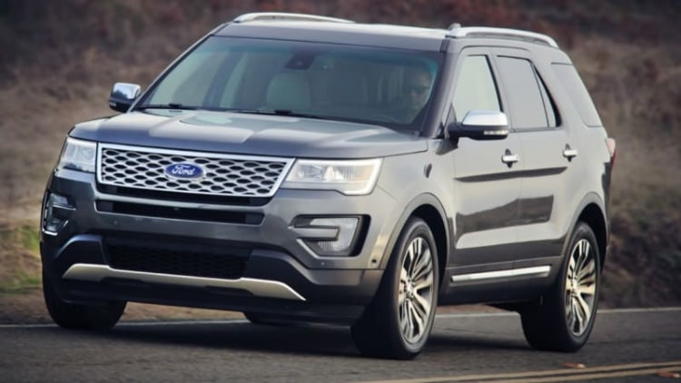 2016 Ford Explorer order guide revealed