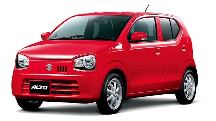 Suzuki Alto goes back to basics in Japan