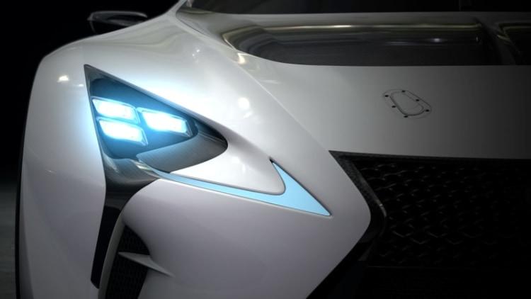 Lexus previews LF-LC GT Vision Gran Turismo