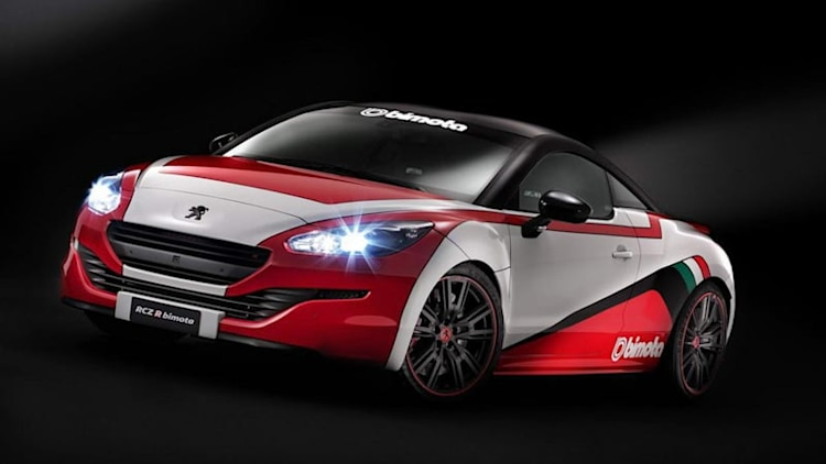 Peugeot and Bimota team up for special RCZ R