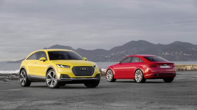 Audi TT Offroad gets the green light