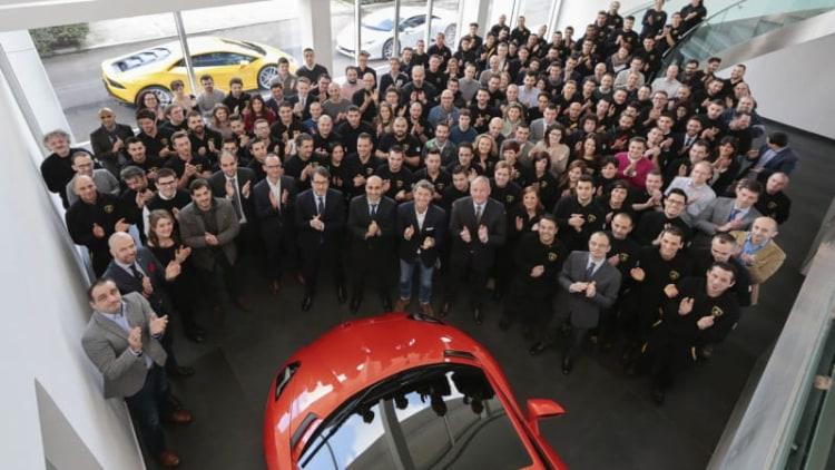 Lamborghini hired 192 new employees in 2014