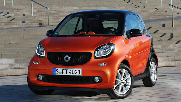 Smart Fortwo gets Twinamic dual-clutch transmission