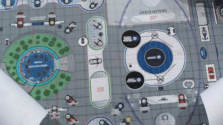 Ford Detroit stand map clearest evidence yet of new GT, Mustang GT350R, SVT Raptor