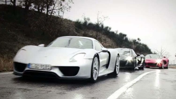 Top Gear teases Porsche 918 vs McLaren P1 vs LaFerrari showdown