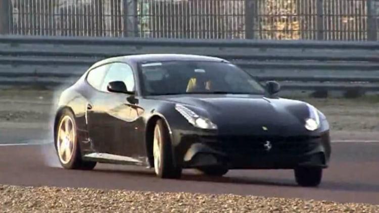 2016 Ferrari FF mule sounds super snarly in Fiorano testing