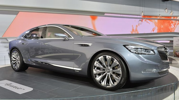 Buick Avenir Concept saunters into Detroit [w/video]