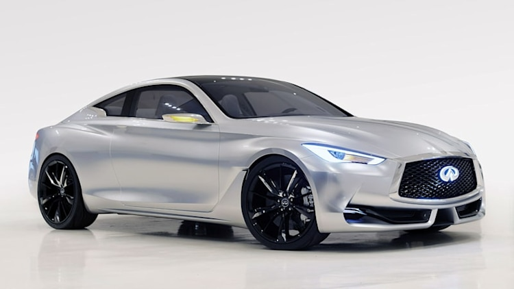 Infiniti Q60 Concept previews sexy styling, twin-turbo V6