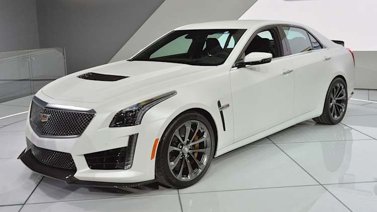 2016 Cadillac CTS-V prepares to kick ass, take names