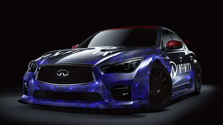 Infiniti Q50 BTCC ready to race